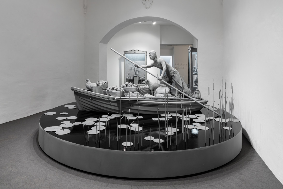 Hans Op de Beeck, «The Boatman and other stories», galleria Continua