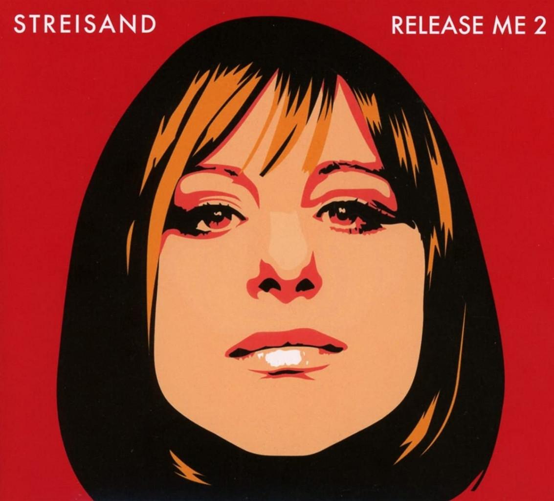 Barbra Streisand nella copertina del disco