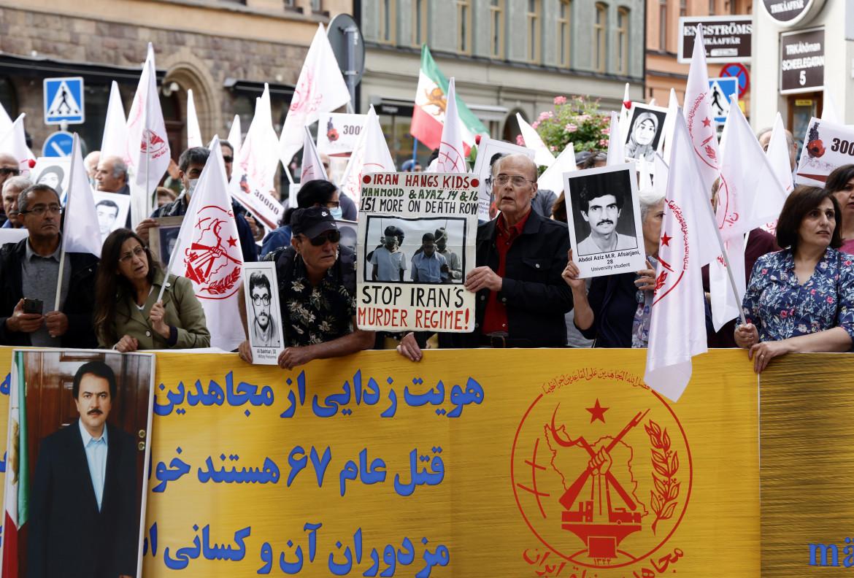 Manifestazione a favore dei Mojaheddin del Popolo a Stoccolma