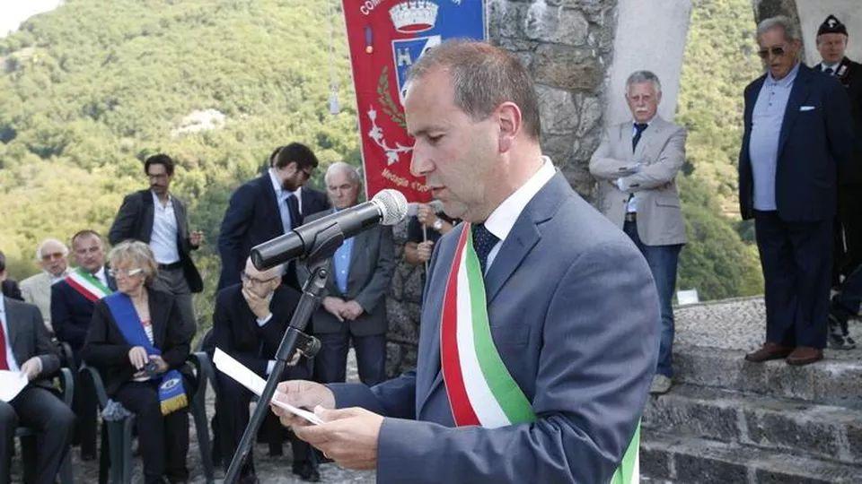 Il sindaco di Stazzema Maurizio Verona