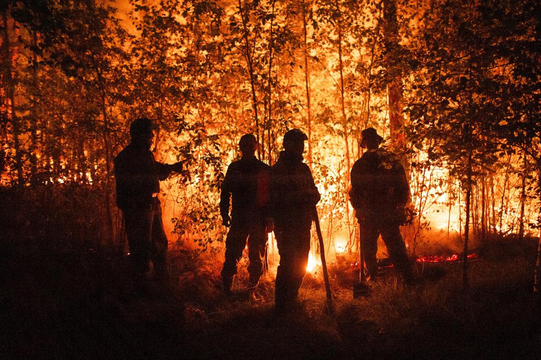 Pompieri a Gorny in Yakutia