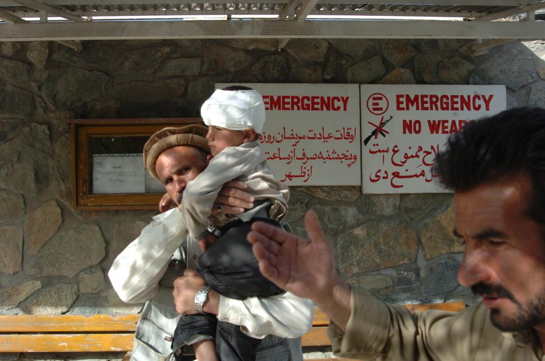 Uno degli ospedali di Emergency in Afghanistan