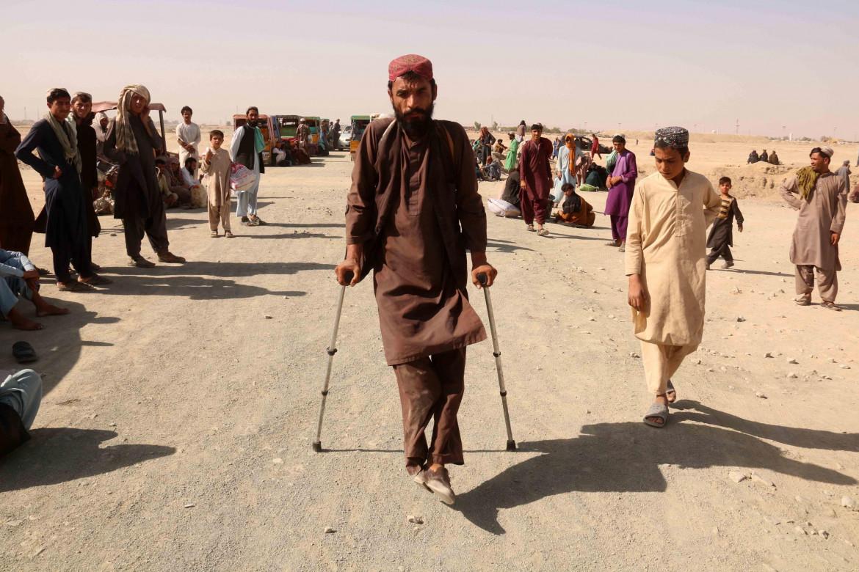 Profughi afghani in fuga dai Talebani