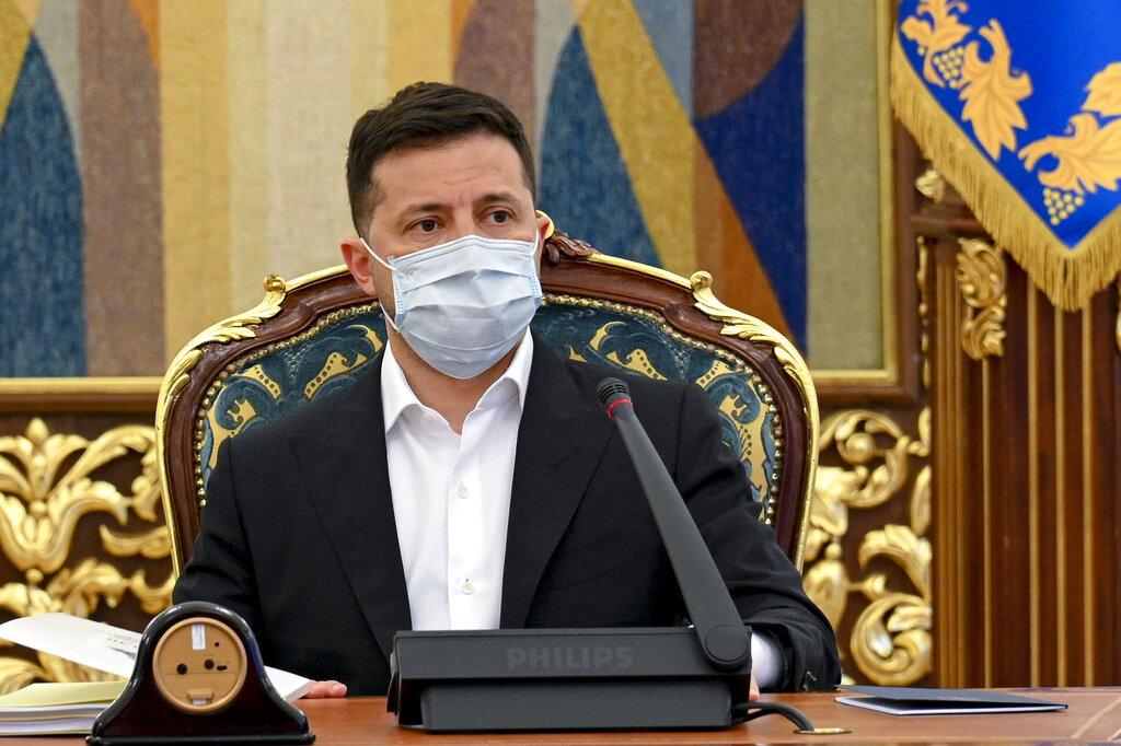Il presidente ucraino Zelensky