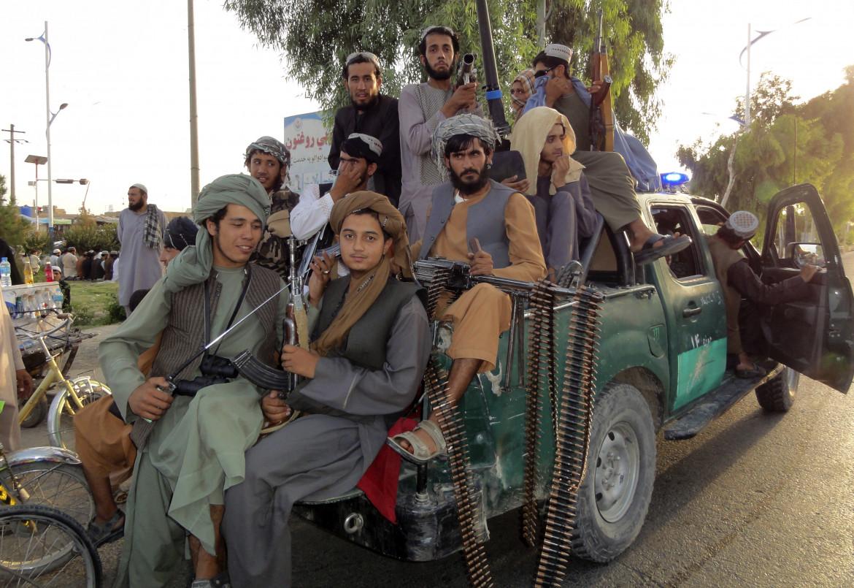 Talebani nella città di Kandahar