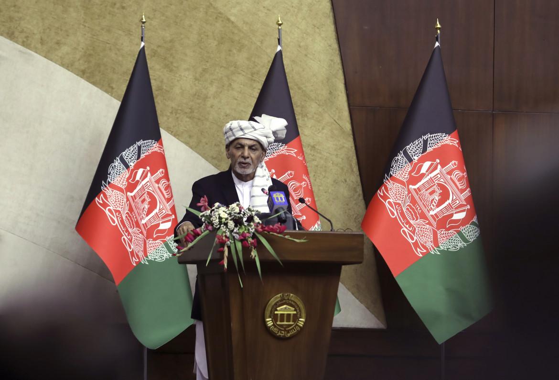 Il presidente afgano Ashraf Ghani