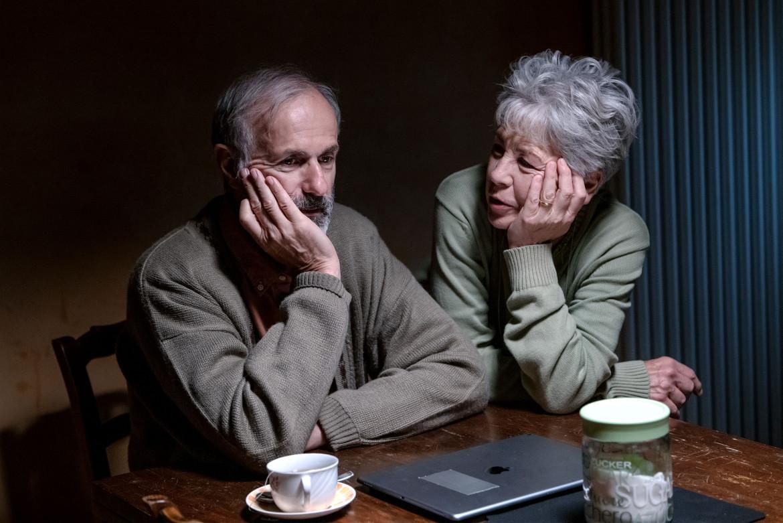 Roberto Citran e Ottavia Piccolo in una scena di «Welcome Venice»