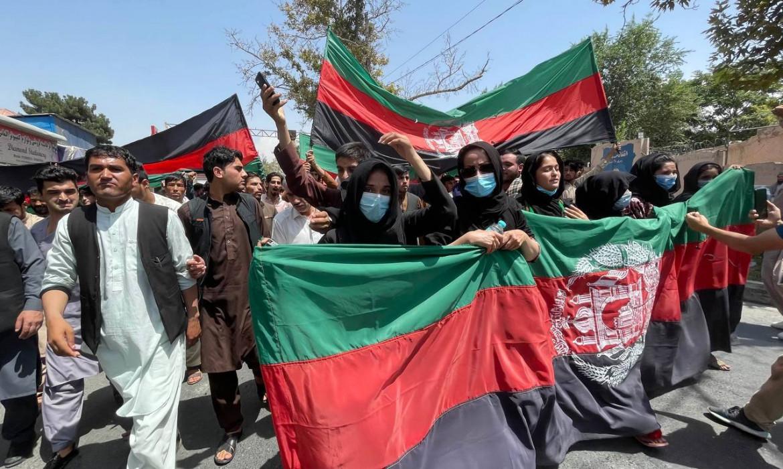 Manifestazione in occasione della ricorrenza dell'indipendenza dell'Afghanistan