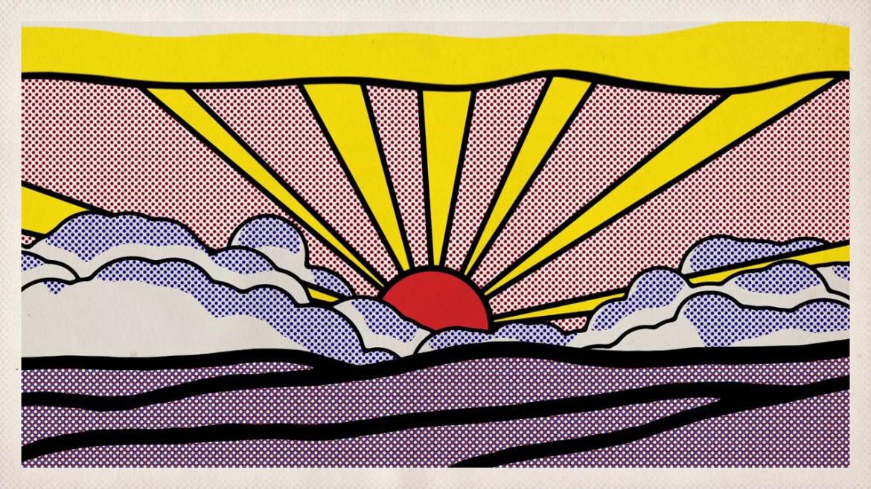 Un'opera di Roy Lichtenstein