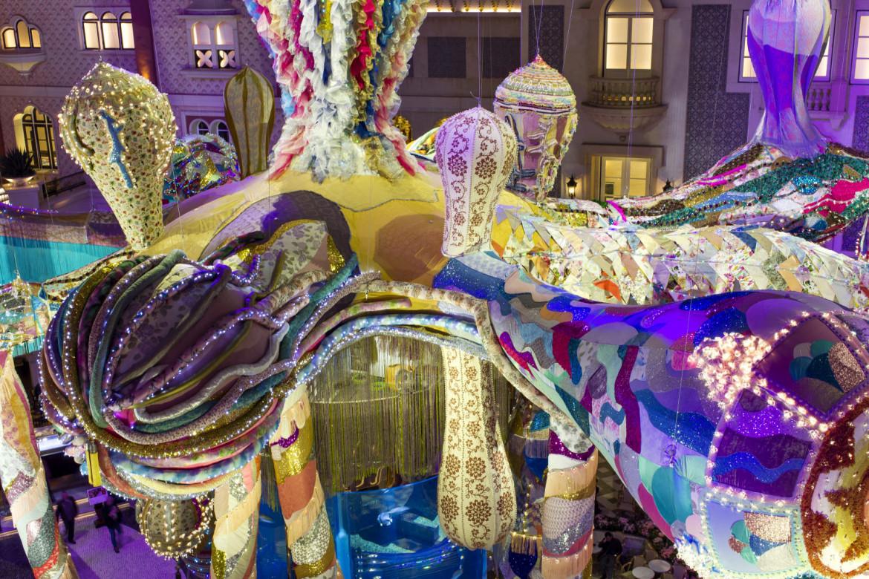«Valkyrie Octopus», un'installazione di Joana Vasconcelos