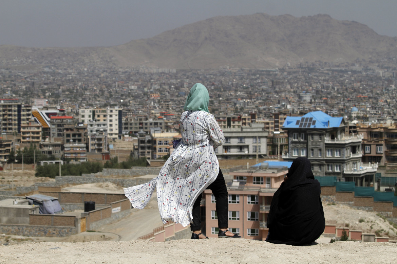 Donne afghane a Kabul