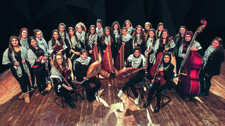 coro delle Banat al Quds, tra le artiste presenti nell'album «Henna - Young female voices from Palestine»