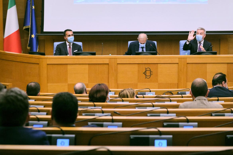 I ministri Di Maio e Guerini in audizione alle commissioni Esteri e Difesa riunite