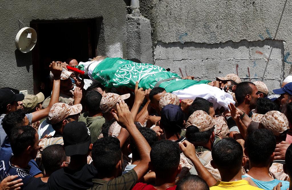 I funerali di Osama Dueij