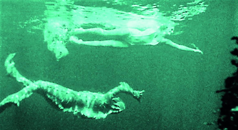 Un'immagine da «Il mostro della laguna nera» (Creature from the Black Lagoon) di Jack Arnold, 1954