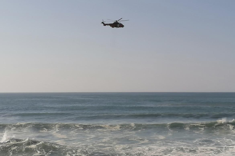 Un elicottero del Salvamento Maritimo