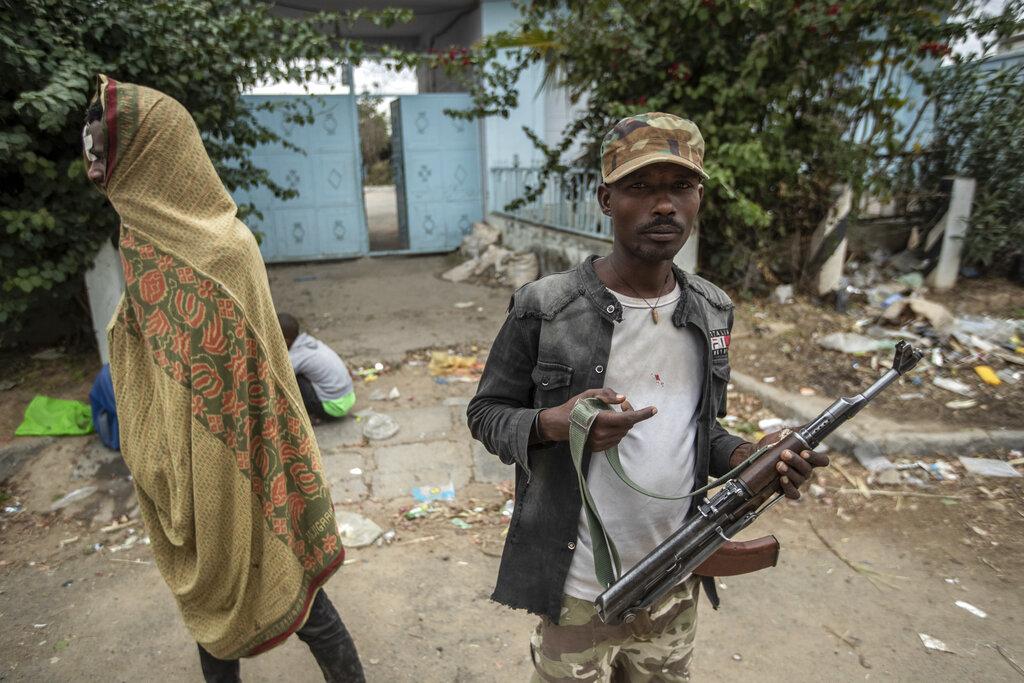 Ribelli del Fronte di liberazione del popolo del Tigray