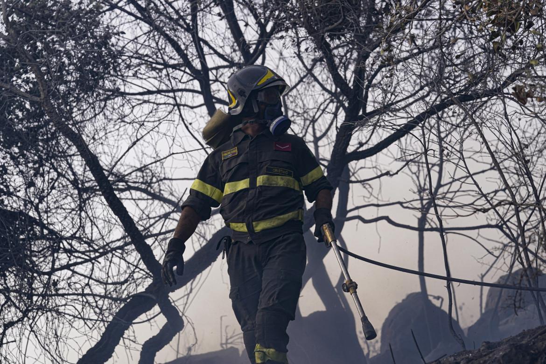 Vigili del fuoco al lavoro nell'Oristanese