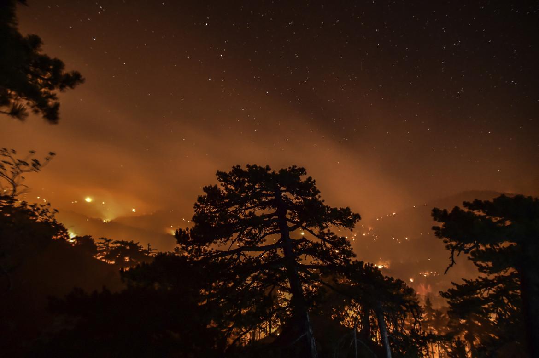 Le foreste turche in fiamme