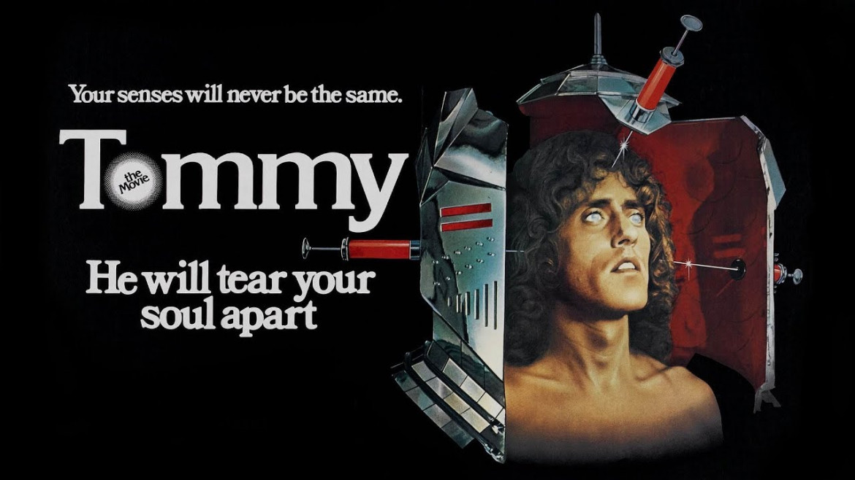 La locandina dell'edizione inglese del film «Tommy»