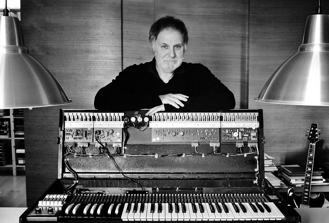 Francesco Messina in studio