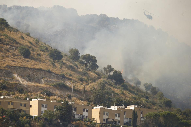 L'incendio del Monte Catillo