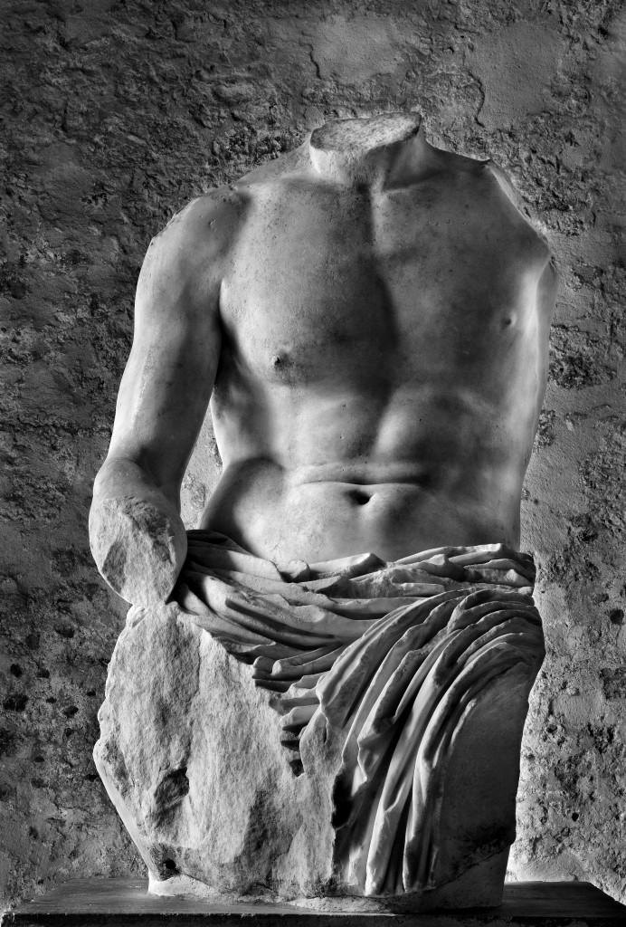Torso colossale detto Biscari, I sec. d.C.,  Castello Ursino, Catania, foto Giuseppe Gambino