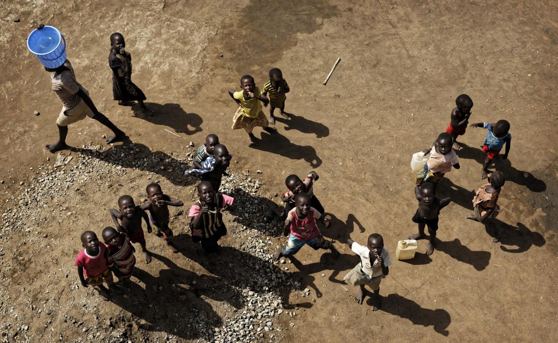Rifugiati sud-sudanesi in un campo del Nord Uganda