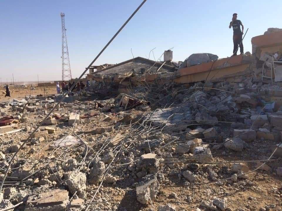 Shengal, l'ospedale in macerie dopo il raid turco