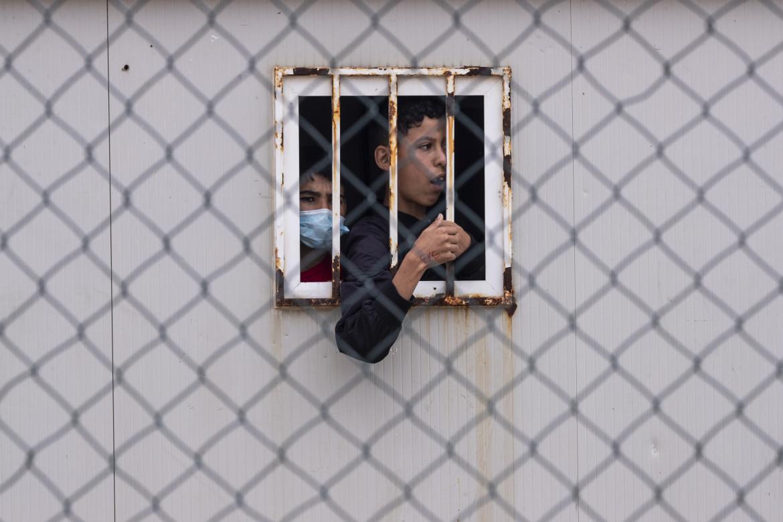 Minorenni marocchini a Ceuta