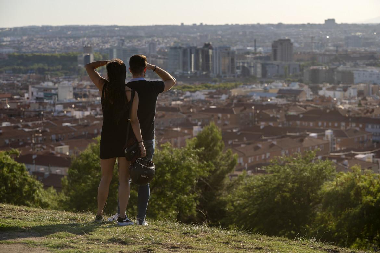 Vista su Madrid