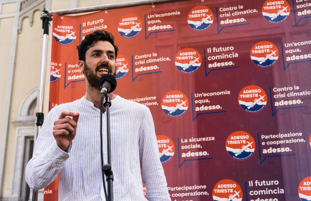 Il candidato di Adesso Trieste Riccardo Laterza
