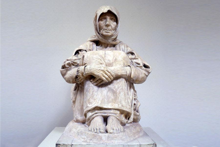 Francesco Ciusa, «La madre dell'ucciso» (1906-1907)