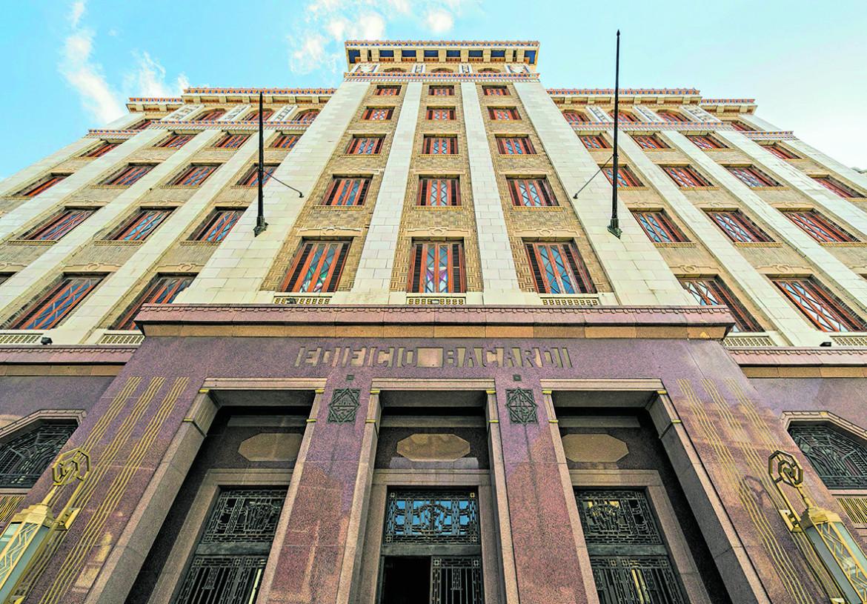 L'edificio Bacardi a L'Avana