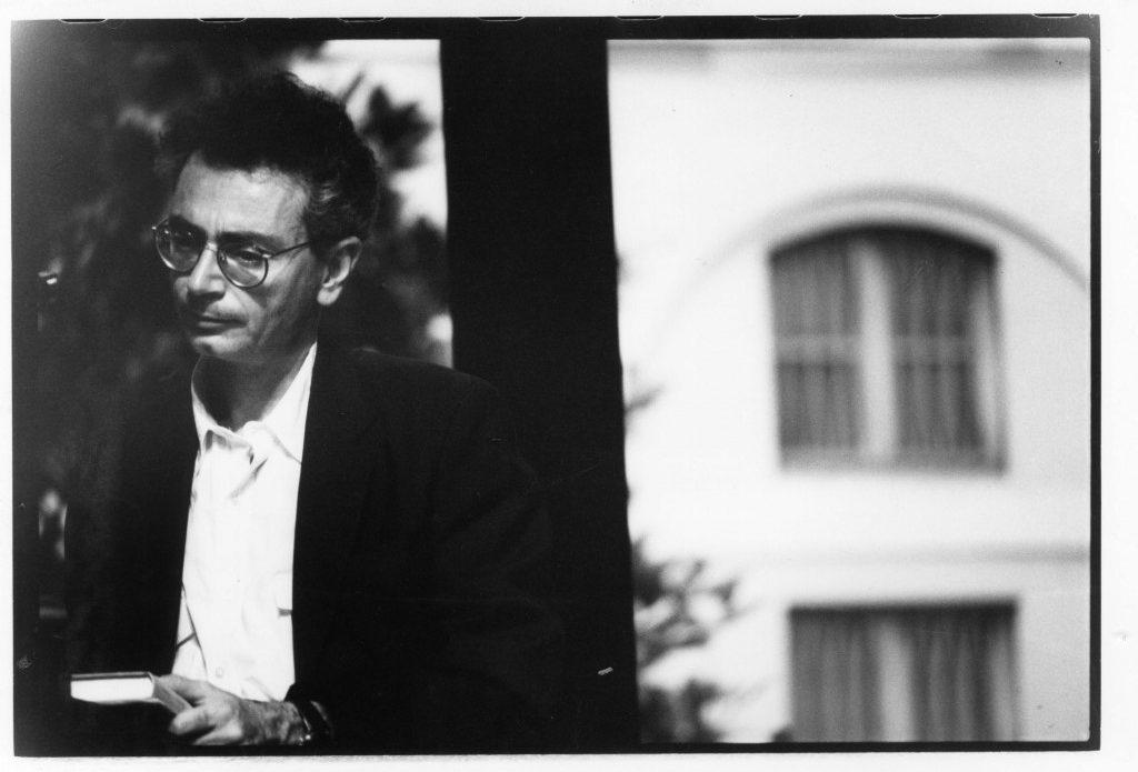 Daniele Del Giudice, foto di Roby Schirer