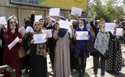 La sfida delle donne al potere talebano