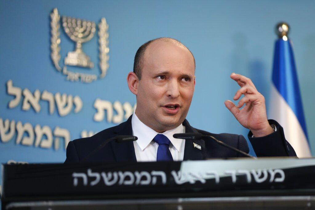 Il premier israeliano Bennett