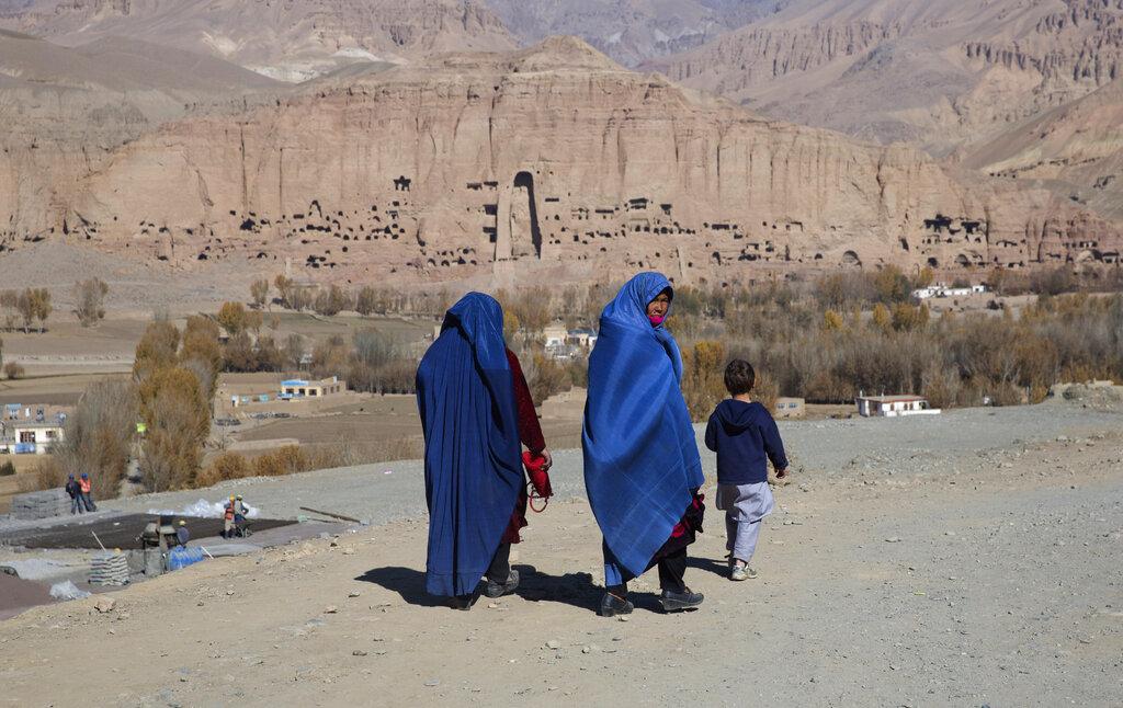 Il sito del Bamiyan dove sono stati distrutti i Budda