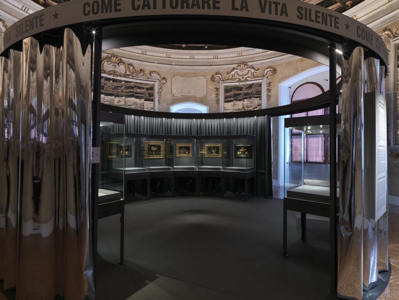 Una sezione della mostra