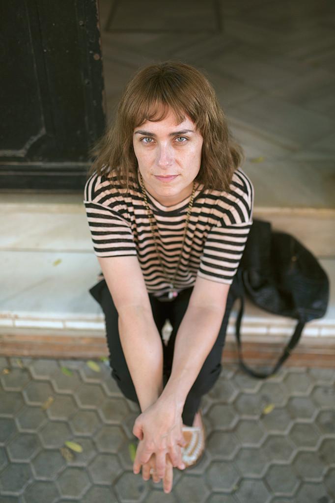 La scrittrice spagnola Sara Mesa