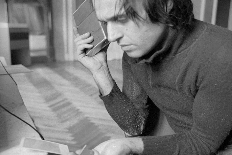 Mario Schifano a Palazzo Primoli negli anni sessanta