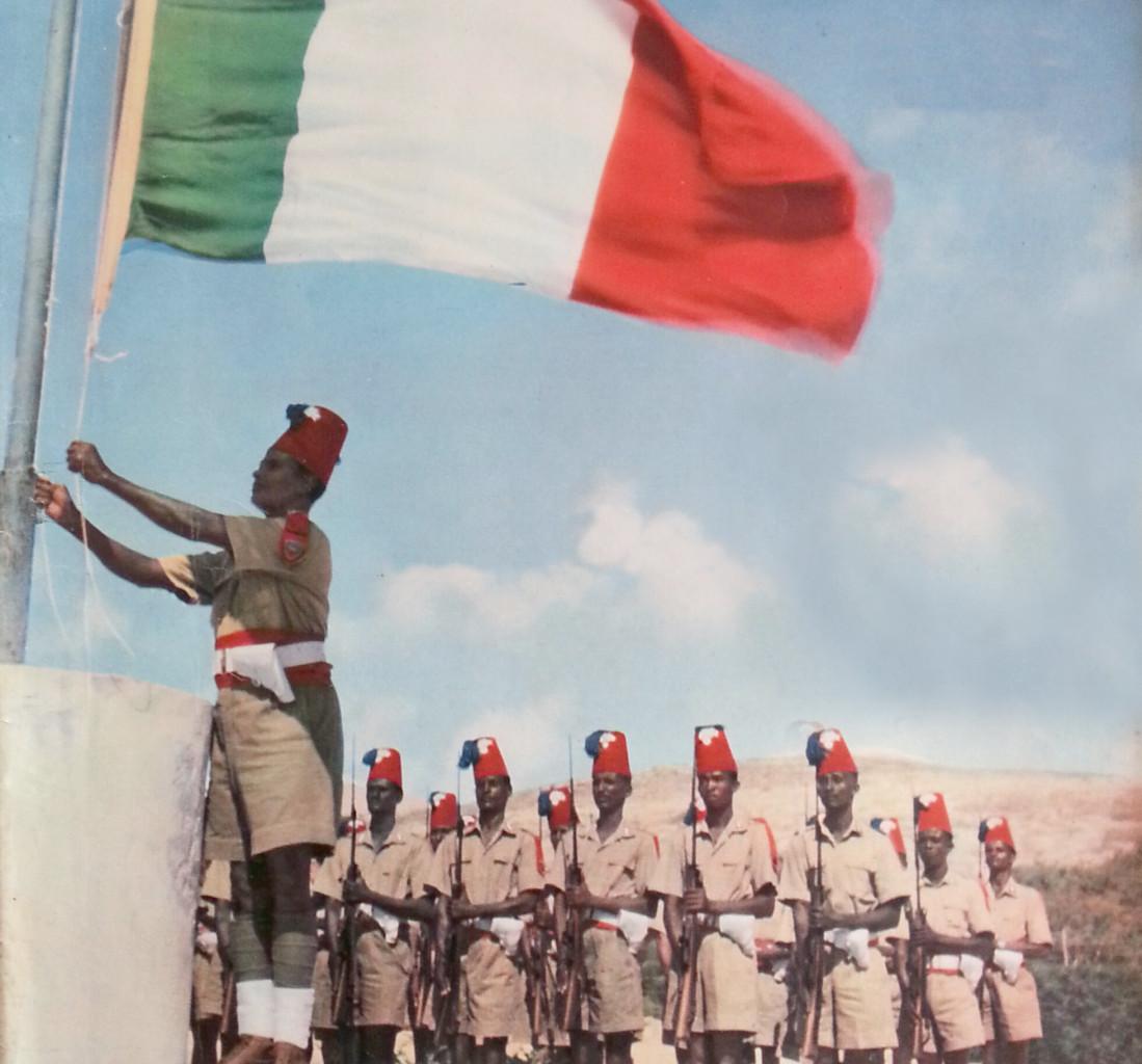 Afis, Somalia,  1950, Italia in amministrazione fiduciaria