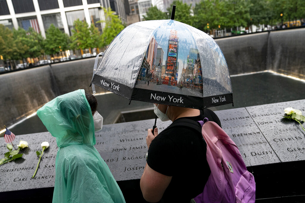 Visitatori del National September 11 Memorial
