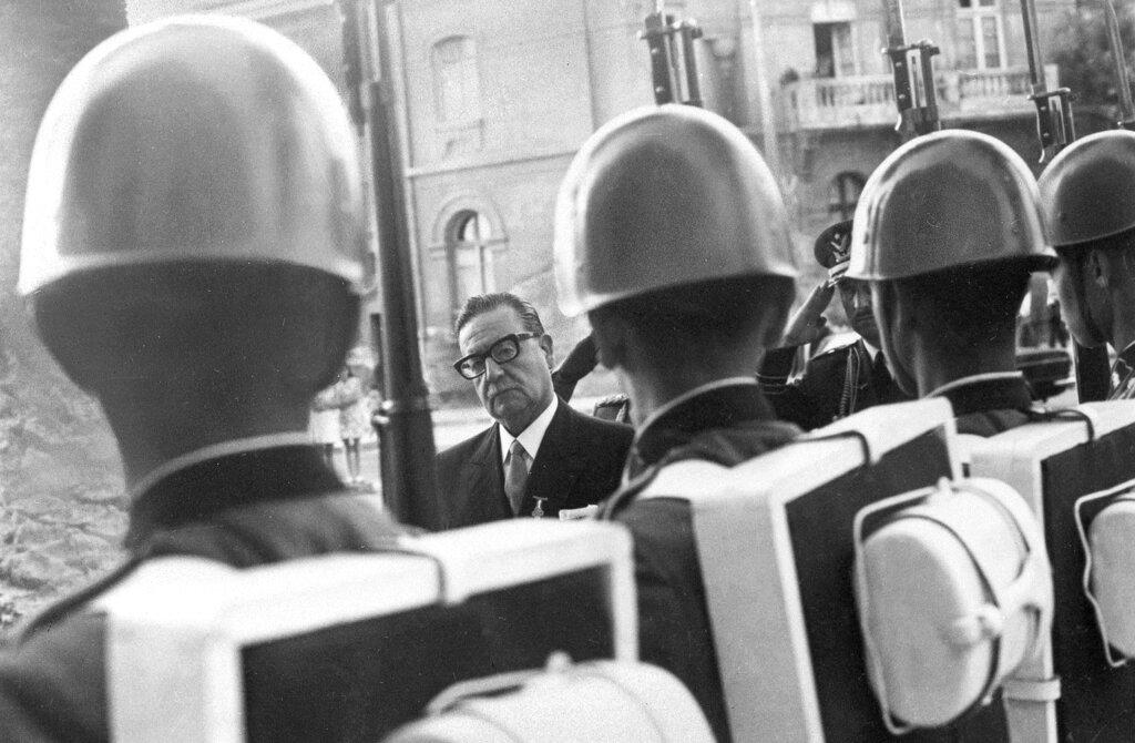 Salvator Allende e Augusto Pinochet