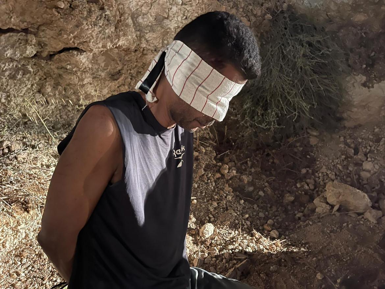 Zakaria Zubeidi, uno dei prigionieri palestinesi evasi a settembre