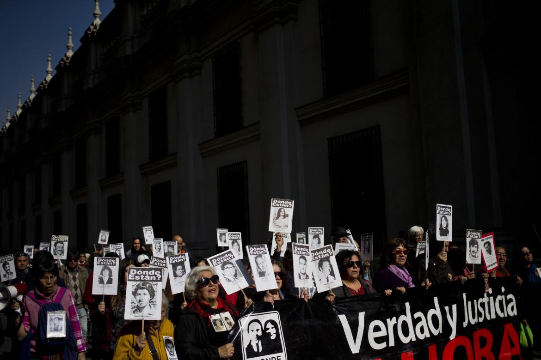 Manifestazione per i desaparecidos