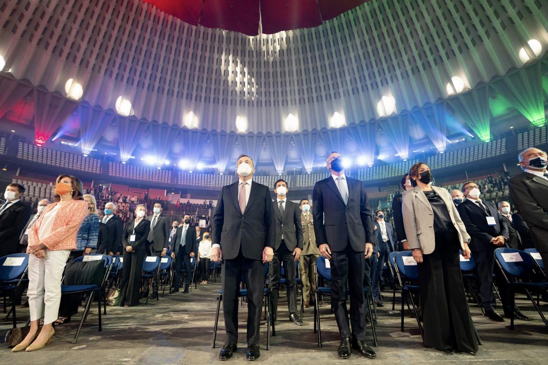 Il Presidente del Consiglio Mario Draghi è intervenuto all'Assemblea di Confindustria