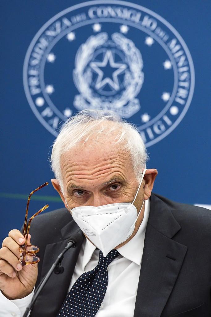 Il ministro dell'Istruzione Patrizio Bianchi