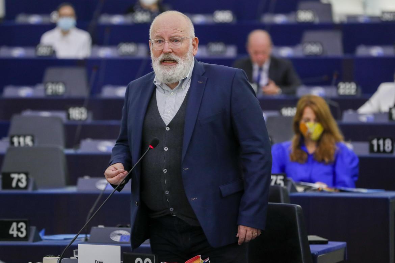 Il vice-presidente della Commissione incaricato delle questioni climatiche, Frans Timmermans