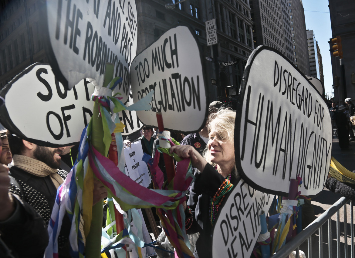 Occupy Wall Street in corteo
